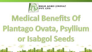 Medical Benefits Of Plantago Ovata, Psyllium or Isabgol Seed