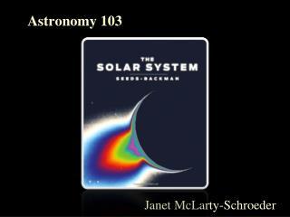 Astronomy 103