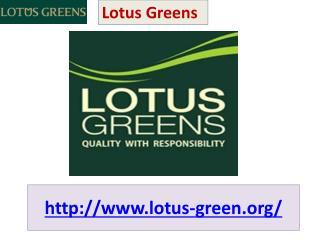 Lotus Greens Living Apartments @ 09650 127 127
