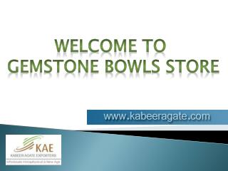 Gemstone bowls Suppliers USA | UK | Australia