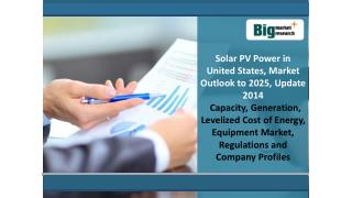 Solar PV Power in United States, Market Outlook to 2025