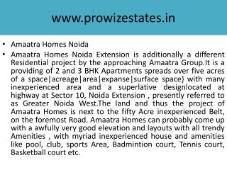 Amaatra Homes, Amaatra Homes Noida Extn....