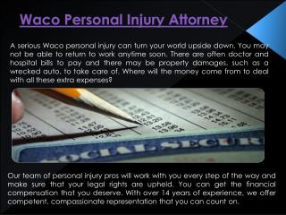 Personal Injury Lawyer Waco