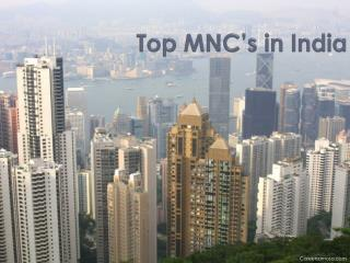 Top MNC's in India