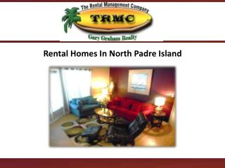 Rental Homes In North Padre Island