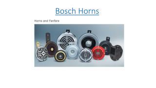 Bosch Horns
