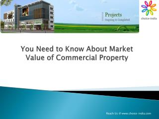 You Need to Know About Market Value of Commercial Property