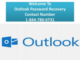 Outlook Password Recovery Contact Number 1-844-780-6731
