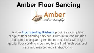 Affordable Floor Sanding Brisbane