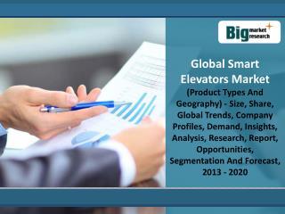 Global Smart Elevators Market Analysis And Forecast