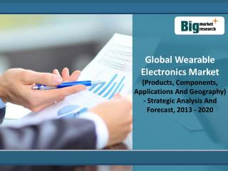 Global Wearable Electronics Market Analysis And Forecast