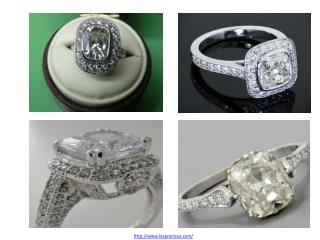 Cushion Diamond Ring Singapore