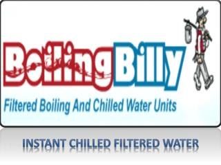 Instant Chilled Filtered Water - www.boiling-billy.com