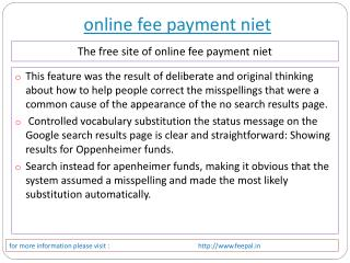 Getting some of the Best opportunity about online fee paymen