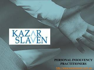Personal Insolvency Practitioners by Kazar Slaven