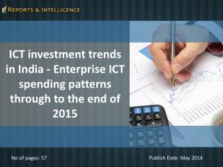 R&I: ICT investment trends in India 2015