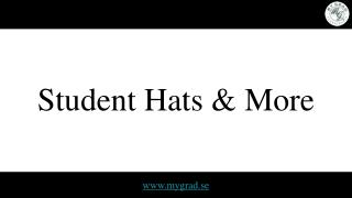 Student Hats & More
