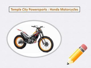 Honda Sports Motorcycles