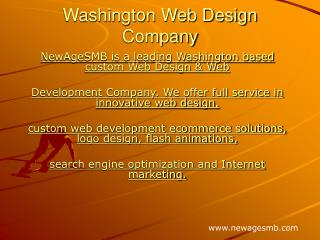 Washington Web Design Company