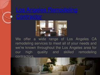 Los Angeles Remodeler