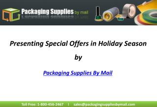 Special Offers At PackagingSuppliesByMail