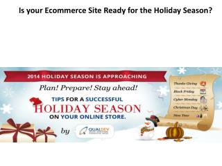 Is your Ecommerce Site Ready for the Holiday Season?