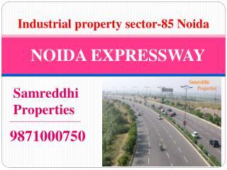 For Sale 2400 meter Functional Plot in sector 85 Noida