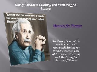 Mentors for Women