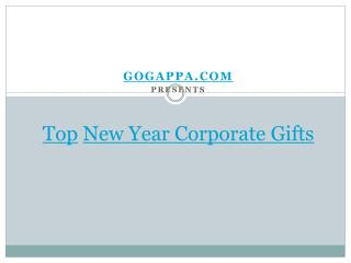 GoGappa Presents Top 2015 New Year Corporate Gifts