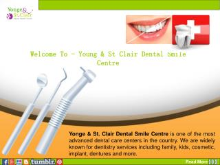 Young & St Clair Dental Smile Centre