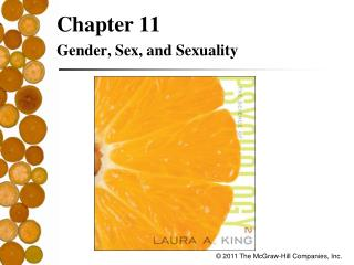 Chapter 11 Gender, Sex, and Sexuality