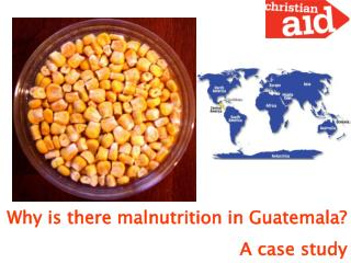 Why is there malnutrition in Guatemala? A case study