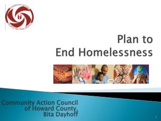 Plan to  End Homelessness