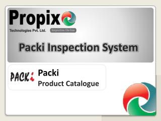 Packi Product Catalogue