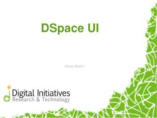 DSpace UI