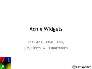 Acme Widgets
