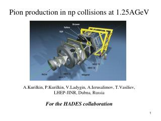 Pion production in n p collisions at 1.25 A GeV