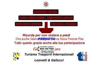 Ora anche Salerno Napoli Roma Siena Firenze Pisa Tutto questo grazie anche alla tua partecipazione
