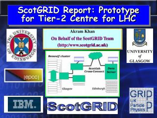 ScotGRID Report: Prototype for Tier-2 Centre for LHC