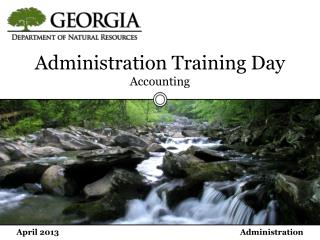Administration Training Day Accounting