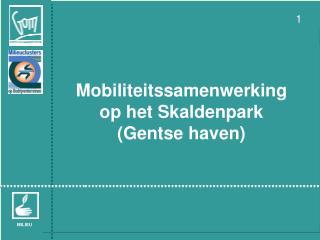 Mobiliteitssamenwerking op het Skaldenpark  (Gentse haven)
