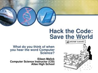 Hack the Code: Save the World