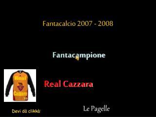 Fantacalcio 2007 - 2008