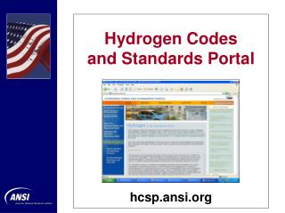 Hydrogen Codes  and Standards Portal
