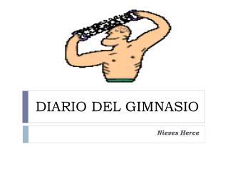 DIARIO DEL GIMNASIO
