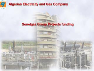 Sonelgaz  Group  Projects funding