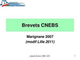 Brevets CNEBS