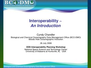 Interoperability ~ An Introduction
