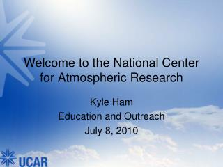 Welcome to the National Center for Atmospheric Research