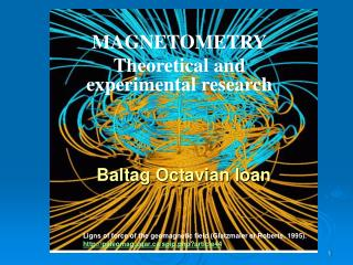 MAGNETOMETR Y Theoretical and experimental research